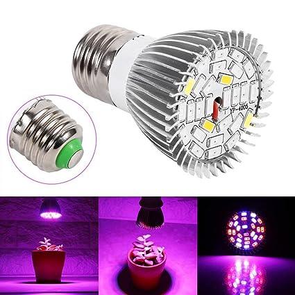 1-12X LED Full Spectrum 36W Grow Plant Light Bulb E27 Lamp For indoor Veg Plants