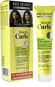 Marc Anthony Strictly Curls Curl Envy Perfect Curl Cream, 6 Ounce Tube Curl Styling Cream Fights Frizz and Humidity