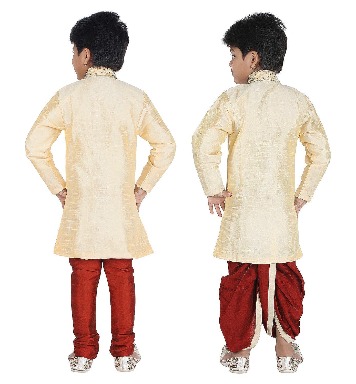 c551e0280 Amazon.com  Ahhaaaa Kids Indian Ethnic Bollywood Style Kurta