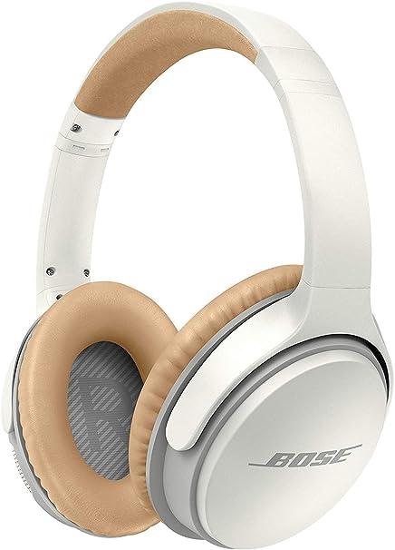Bose SoundLink II - Auriculares Supraurales Bluetooth con Micrófono, Control Remoto Integrado, color Blanco