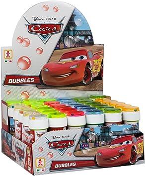 ColorBaby - Caja pomperos Cars con 36 Unidades de 60 ml (23995): Disney - 4900 - Jeu de Plein Air - Bulles de Savon x1 - 36 Modèles - 60 ml: Amazon.es: Juguetes y juegos