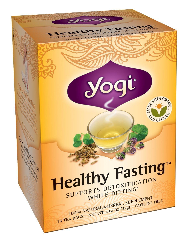 YOGI TEA,OG3,HEALTHY FASTING, 16 BAG by YOGI