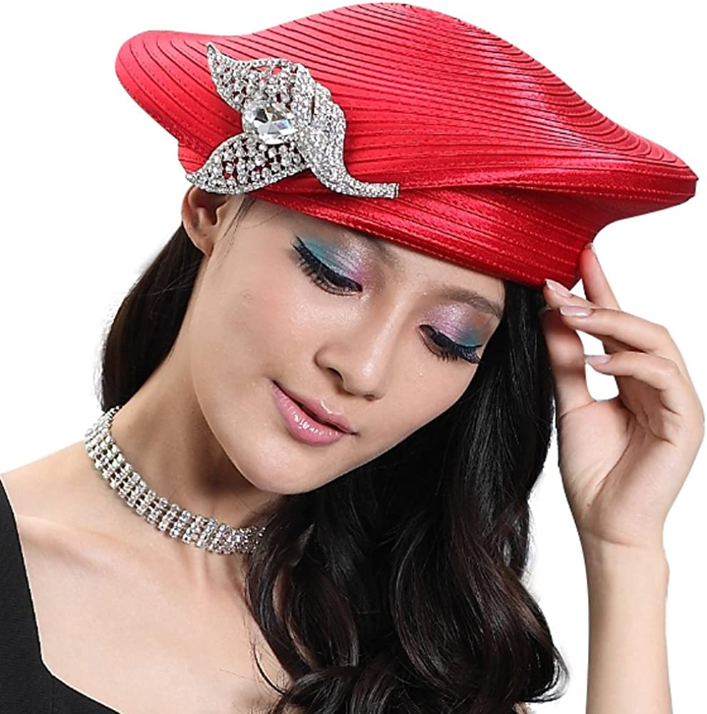 Junes Young Fashion Beret Army Style Hats Women Hat