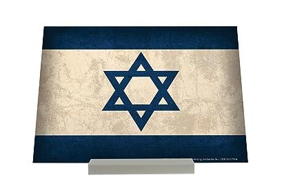 Soporte Fotografias Aventurero bandera de Israel Letrero Decoración