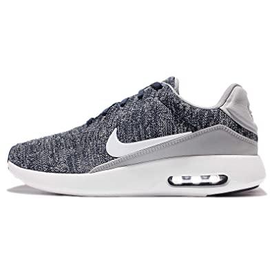 NIKE Air Max moderne Flyknit, COLLEGE NAVYWHITE WOLF GR, 41