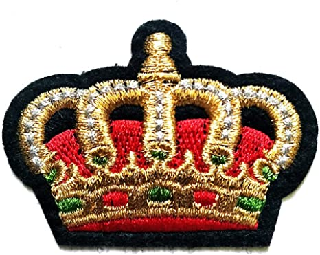 Amazon Com Pp Patch Red Crown Royal King Queen Patch For Cartoon Kids Patch Ideal For Adorning Your Clothes Jeans Hats Bags Jackets Shirts Or Gift Set Arts Crafts Sewing Brown crown illustration, cartoon queen crown transparent background png clipart. pp patch red crown royal king queen patch for cartoon kids patch ideal for adorning your clothes jeans hats bags jackets shirts or gift set