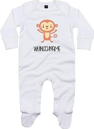 Kleckerliese - Pijama para bebé, diseño de animales, nombre ...
