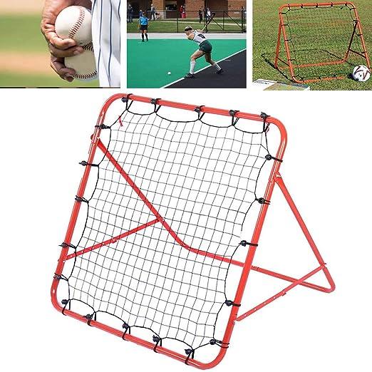 JZFUKSP Red de reboteador de béisbol/softbol y fútbol - Equipo de ...