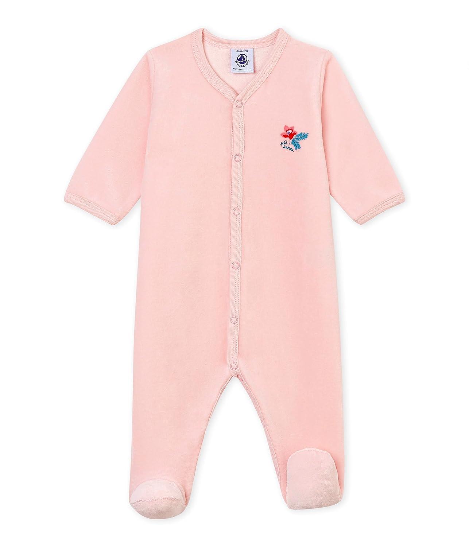 Petit Bateau Baby-Mädchen Schlafstrampler 4366002