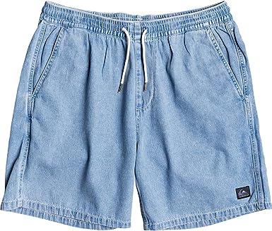 Quiksilver Heritage Pantalones Cortos De Playa Para Hombre Azul Medium Amazon Es Ropa Y Accesorios