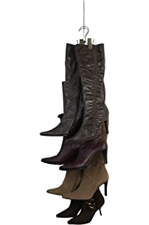 NEW IMPROVED SYSTEM: Boot Stax   Vertical Boot Storage System   1 Hanging