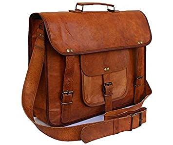 44d9692ad4 Anshika International Leather Laptop Bag for Men   Women