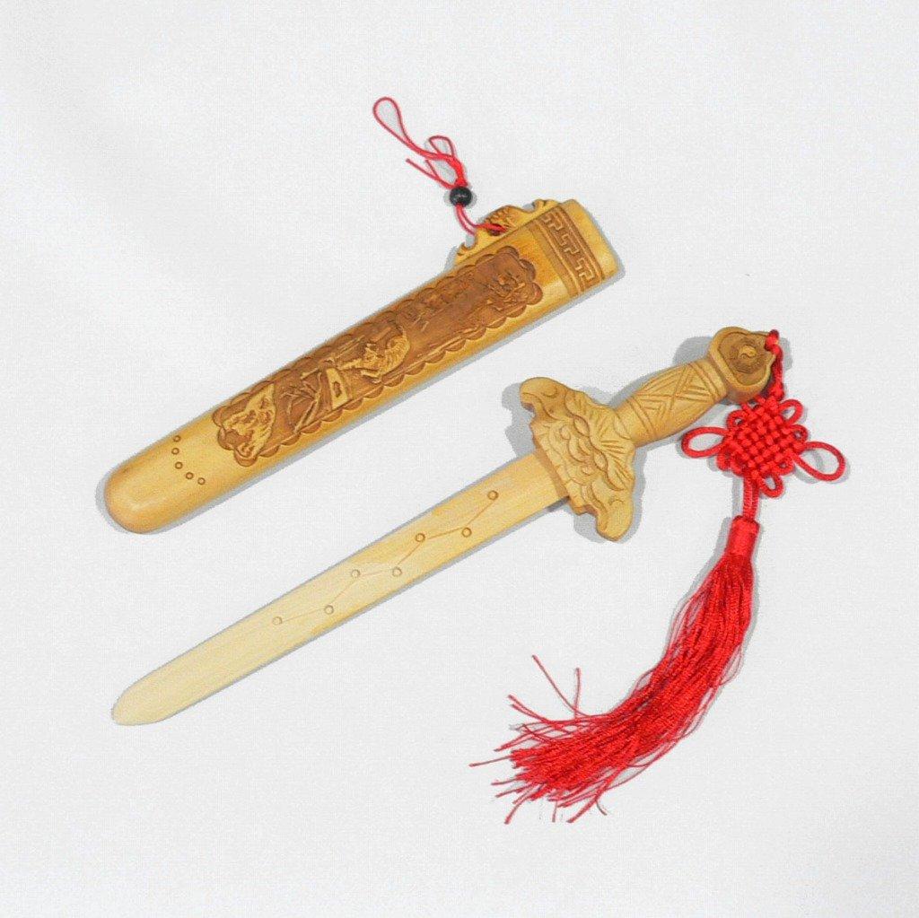 風水桃木剣(七星剣)C 45cm B002A7RM2U 45cm 45cm