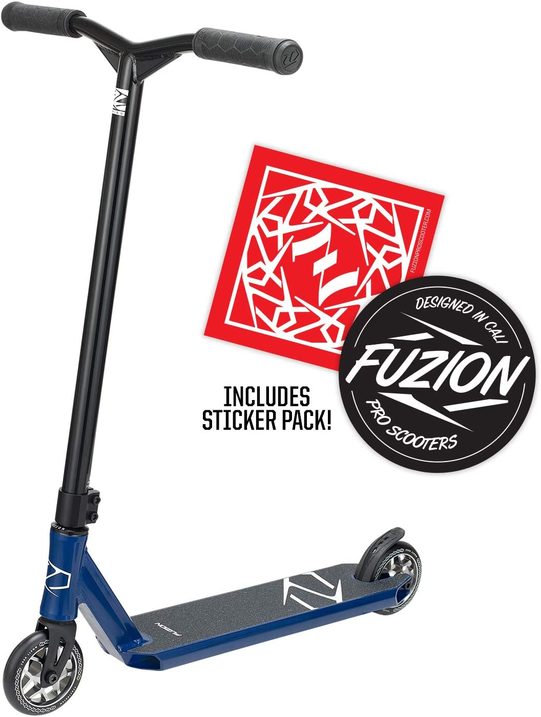 Smooth Fuzion Z250 Pro Scooters Teens and Adults Freestyle Kick Scooter for Boys and Girls Intermediate and Beginner Stunt Scooters for Kids 8 Years and Up Trick Scooter Durable