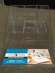 Mdesign lazy susan turntable office supplies - Lazy susan desk organizer ...