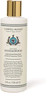 product image for Caswell-Massey Centuries Sandalwood Liquid Bath Soap – Plant-Based Body Wash With A Crisp Sandalwood Scent, 8 oz