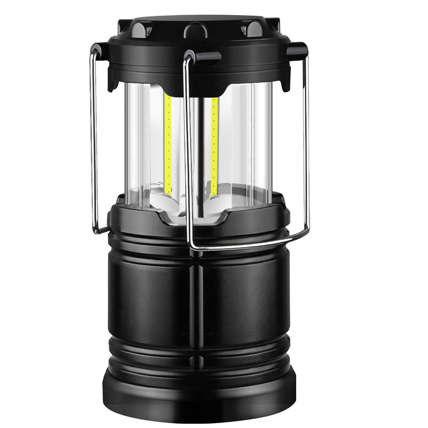 Camping Lantern Waterproof Portable LED Collapsible Flashlights Survival Kit for Emergency Hurricane Outage (Package of 1)