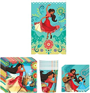 American Greetings Elena of Avalor Dessert Square Plate 8 Count AMNSX 5832338