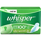 Whisper Ultra Clean - L Wings (8 Pads)