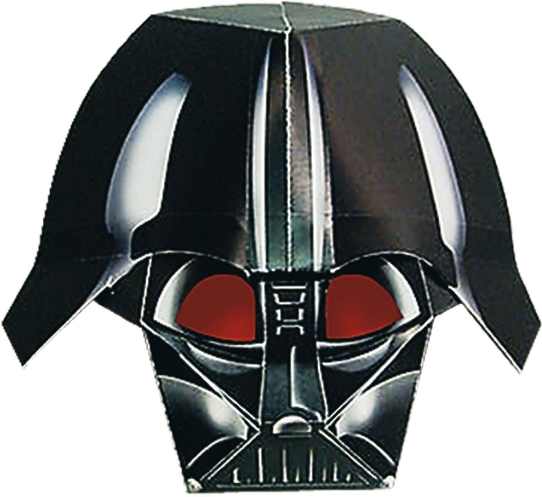 Amazon Com Star Wars Darth Vader Masks Clone Wars Party Masks Toys Games