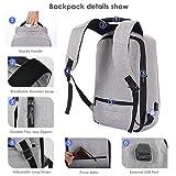 SEEHONOR Laptop Backpack, Slim Business Computer