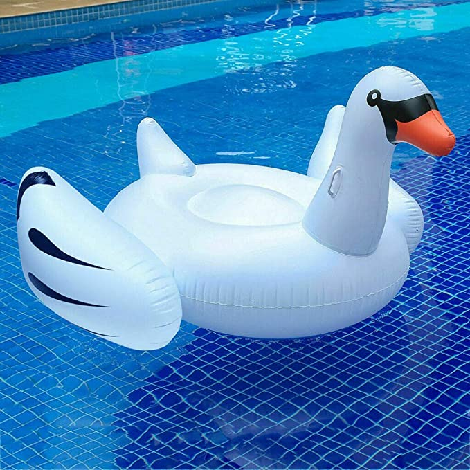 Amazon.com: LZTET Flamingo - Flotador hinchable para piscina ...