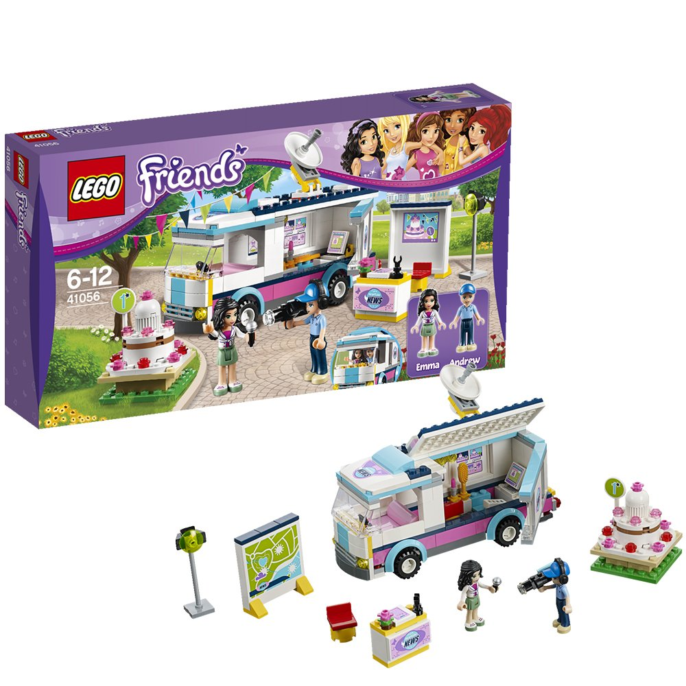LEGO Friends Set # 41056 Furgoneta de Heartlake News