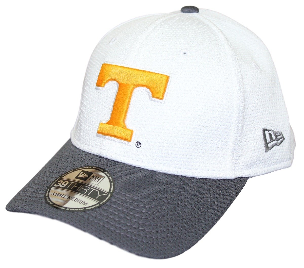 sports shoes ffaec a6578 Amazon.com   Tennessee Volunteers New Era NCAA 39THIRTY Performance Flex  Fit Hat - White   Clothing