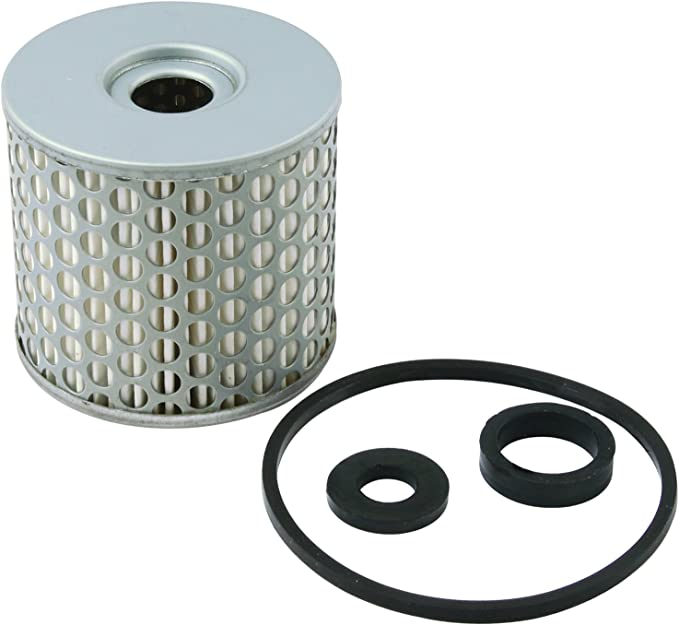 Allstar ALL40250 3//8 NPT Inlet//Outlet Chrome Finish Canister Type Fuel Filter