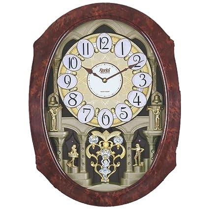 2d260fbe3 Buy Ajanta Plastic Wall Clock (56 cm x 42 cm x 12 cm