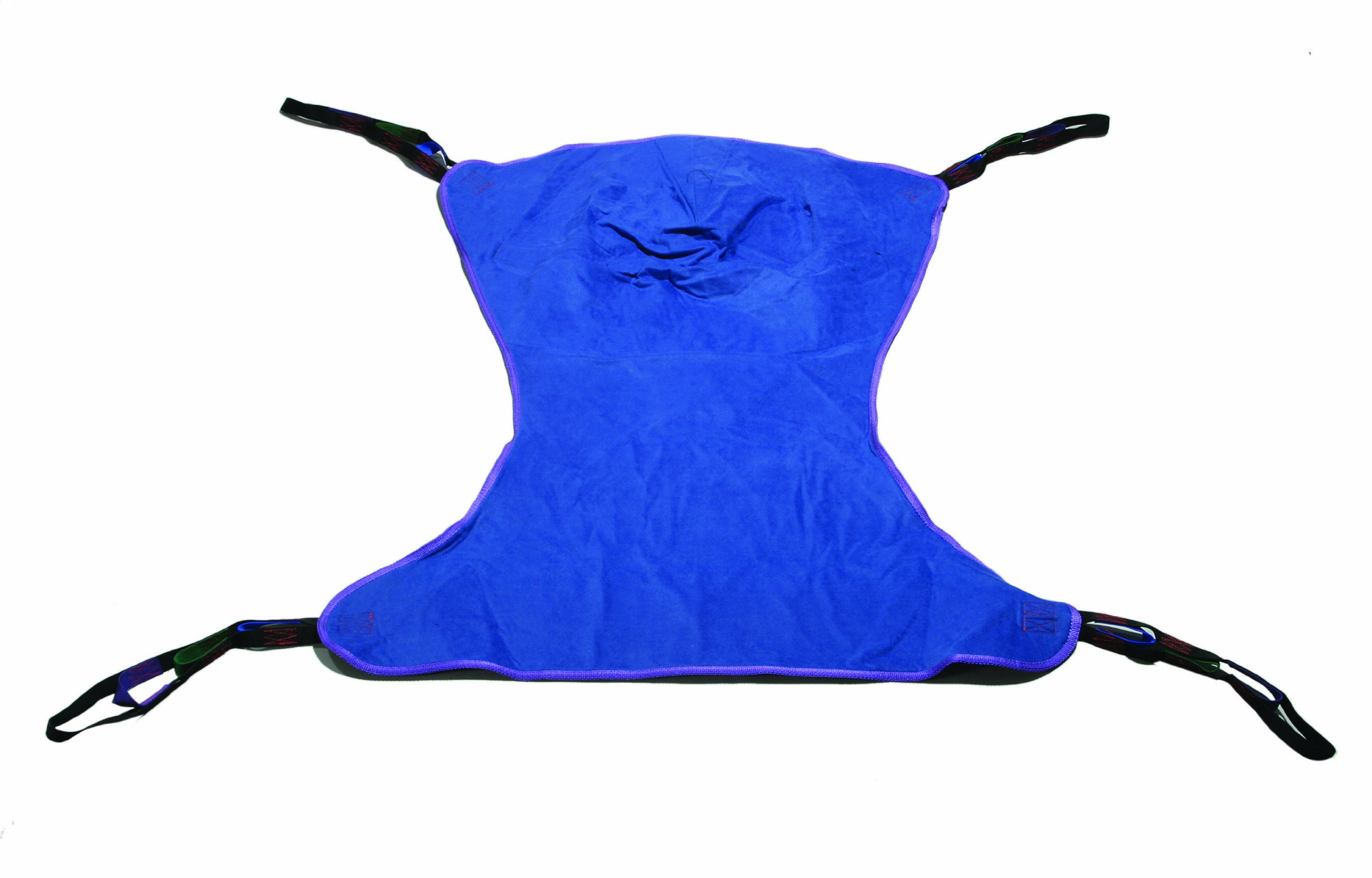 Drive Medical Full Body Patient Lift Sling, Solid, Large, Blue by Drive Medical