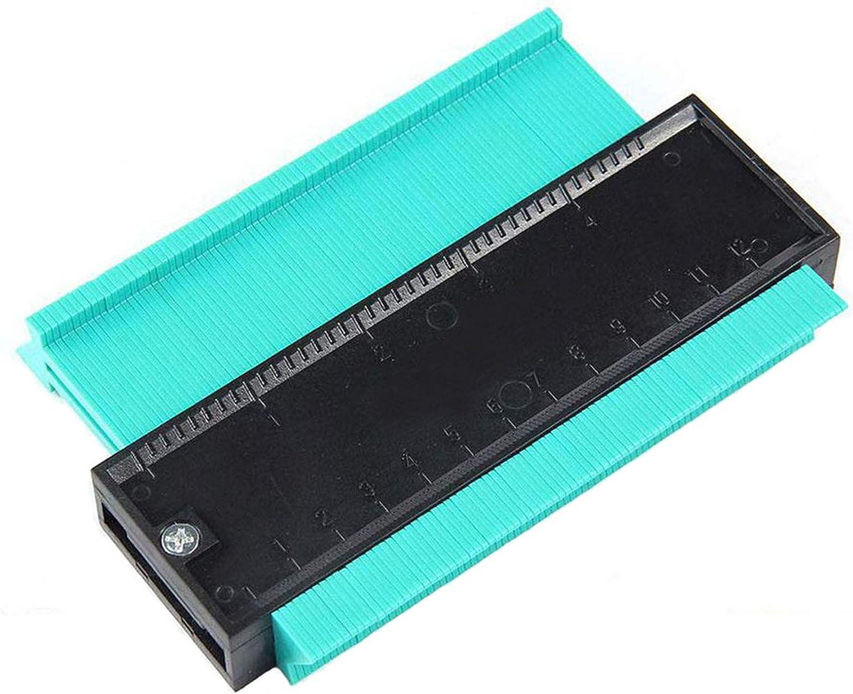Medidor Contornos Contour Gauge Duplicator 120MM Copiador de Formas Perfiles Plantilla Instantanea Madera Medida Azulejos laminados: Amazon.es: Bricolaje y herramientas