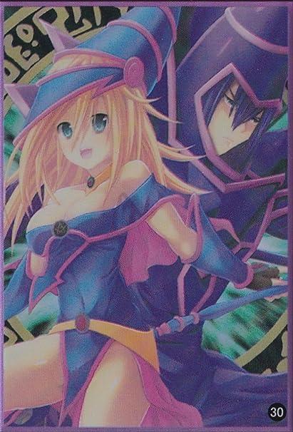 100yu Gi Oh Standard Size Sleeve Sexy Dark Magician Girl Card