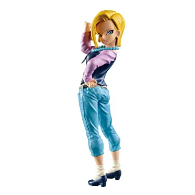 Banpresto Dragon Ball Super 6.7-Inch Android 18 Figure, SCultures Big Budoukai 6, Volume 1: Toys & Games