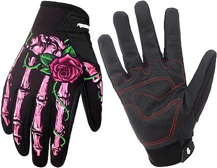 Voll Finger Warm Fahrrad Radsport Handschuhe für Fahrrad-Motorrad Größe M-XL