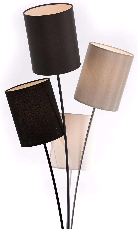 Dl Designerlampen Stehlampe Schwarz Grau Weiss Beige 160 Cm Hoch