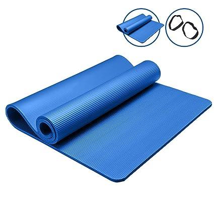 New Exercise Mat 10/15 mm Thick Non-Slip Carpet Pilates Yoga ...