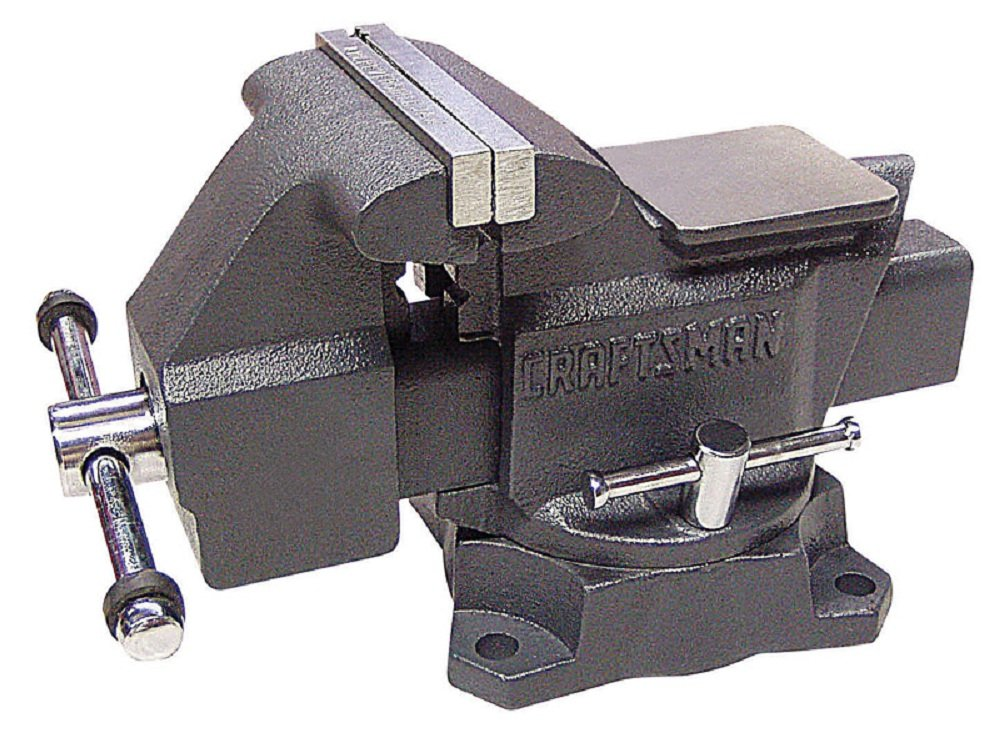 Sears Brand Management Corp Cm Bench Vise 6'', Sears Brand Management Corp