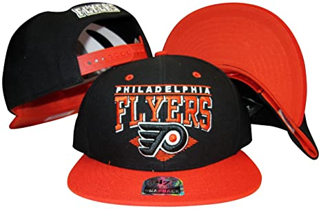 a9b463daf7f Amazon.com   Philadelphia Flyers Black Orange Two Tone Plastic ...