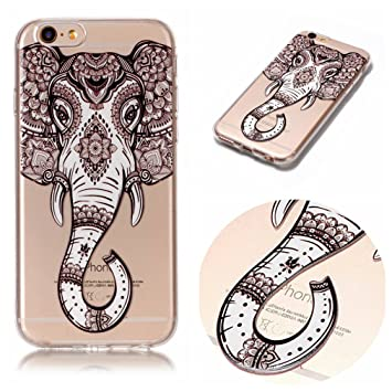 coque iphone 6 silicone elephant