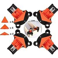 Houten klemmen, 4 STUKS Hoekklemmen Set Multi-hoek 60 Graden 90 Graden 120 Graden Fixeermiddel, DIY handgereedschap…