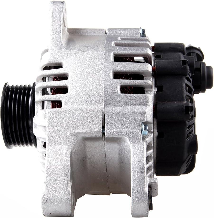 FEIPARTS Alternator Alternators Compatible with Hyundai Santa FE 2005-2006 Sonata 2005 Tiburon 2005-2008 Tucson 2005-2009 2.7L KIA Magentis 2005-2006
