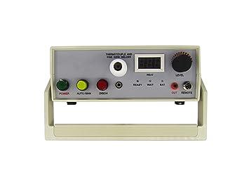 Nueva tl-weld termopar máquina de soldadura soldador 90 V-240 V: Amazon.es: Hogar