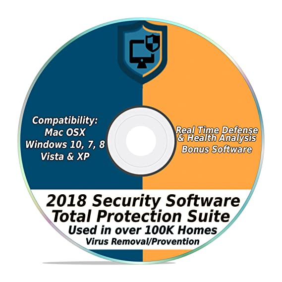 Amazon Com Security Software 2018 Internet Antivirus Web Total