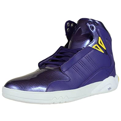 sports shoes 862a7 3d863 adidas Roundhouse Mid 2.0 (co Purple PRI Yellow runninwhite)