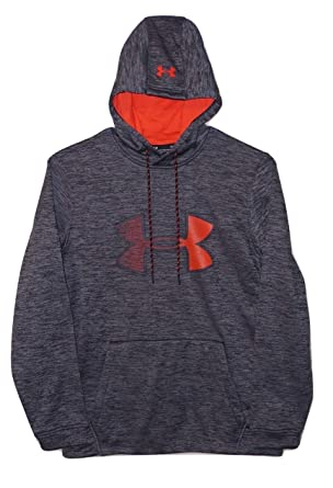 0b131fd2627 Under Armour Mens Cold Gear Ua Logo Graphic Logo Hoodie at Amazon Men s  Clothing store