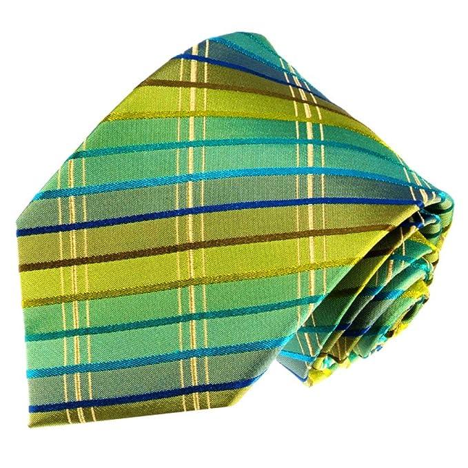 LORENZO CANA - exclusiva Designer corbata de seda 100% seda ...