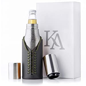 Kamenia Stainless Steel Beer Bottle Holder