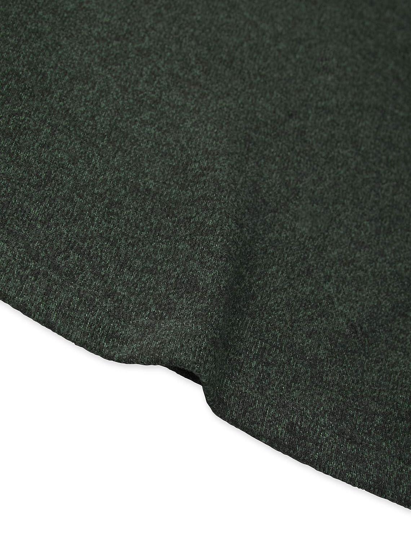 Van Heusen Mens Flex Sweater Fleece Long Sleeve Stretch Crew Neck Pullover