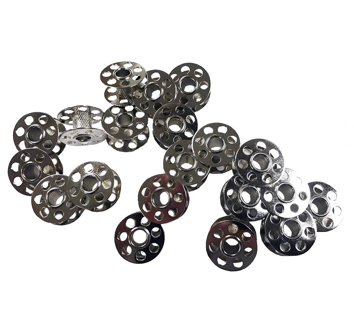 20 Pack Bernina Metal Bobbins 0115367000 Sewing Arts, Crafts ...